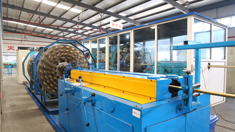 hydraulic hose sprial machine