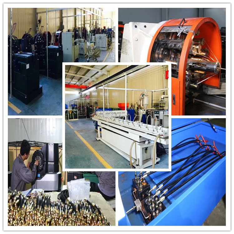 hydraulic hose paint spray hose factory