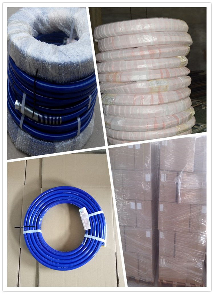 paint spray hose packaging